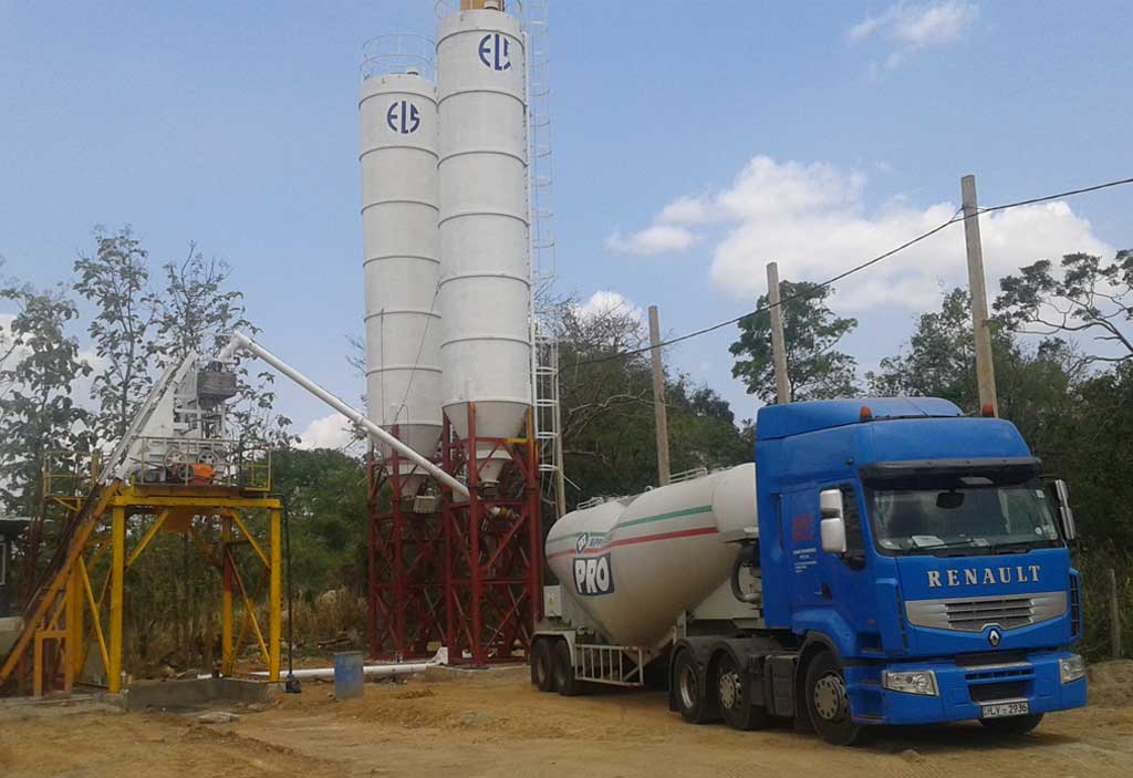 Thonigala Factory began producing readymix concrete   ELS Group