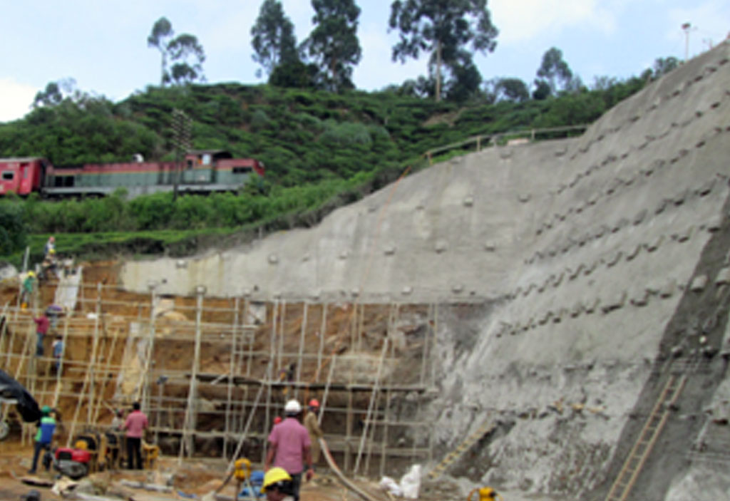 Slope-stabilization